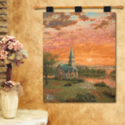 Sunrise Chapel Hanging Wall Tapestry