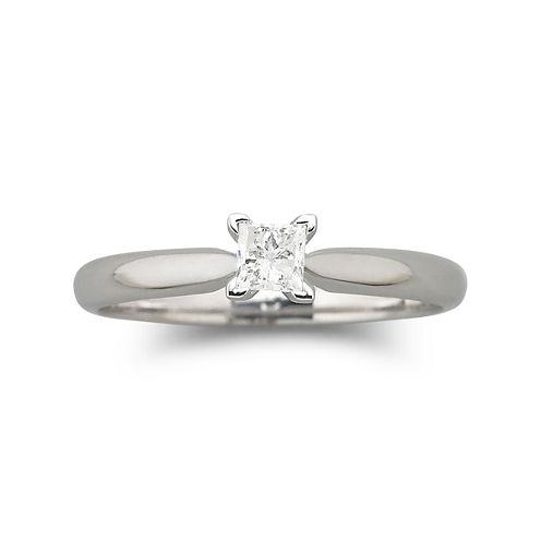 ¼ CT. Princess Certified Diamond Ring