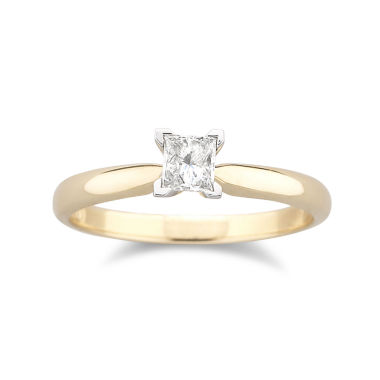 jcpenney.com | 1/4 CT. Certified Diamond Solitaire Ring