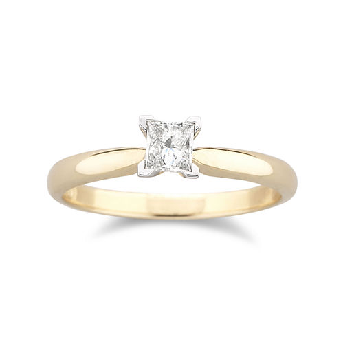 1/4 CT. Certified Diamond Solitaire Ring