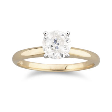 jcpenney.com | 1 CT. Certified Diamond Solitaire Ring