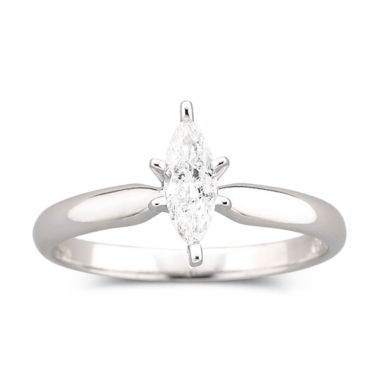 jcpenney.com | 1/4 CT. Marquise Certified Diamond Ring