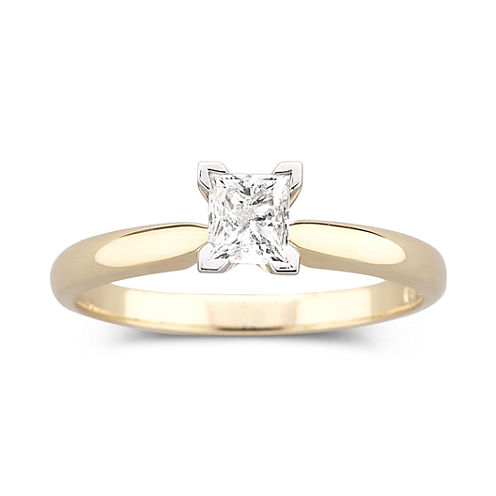 1/2 CT. Certified Diamond Solitaire Ring