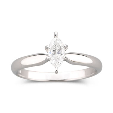 jcpenney.com | 1/2 CT. Marquise Certified Diamond Ring