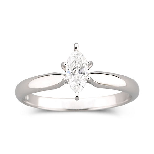 1/2 CT. Marquise Certified Diamond Ring