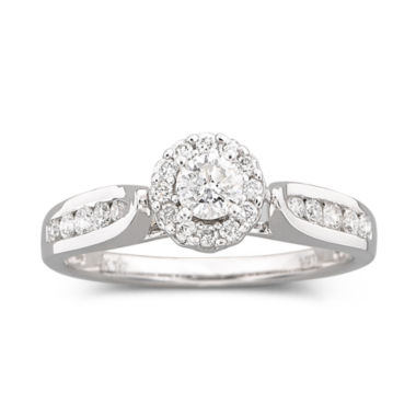 jcpenney.com | ½ CT. T.W. Diamond Engagement Ring