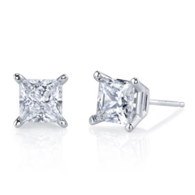 jcpenney.com | Simulated Diamond, Diamonore™ Studs 1 CTW 14K