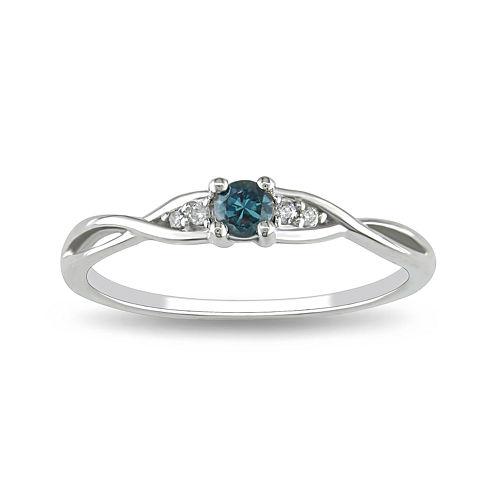 Blue Diamond, 1/7 CT. T.W. Ring