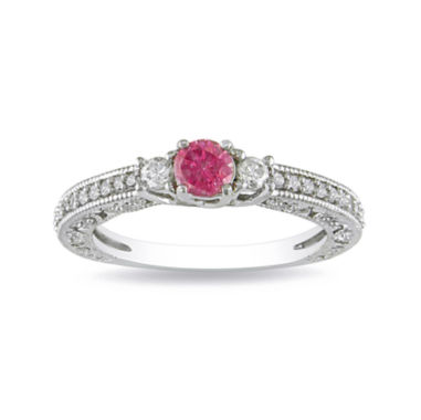 jcpenney.com | Pink Diamond, 1/2 CT. T.W. Ring