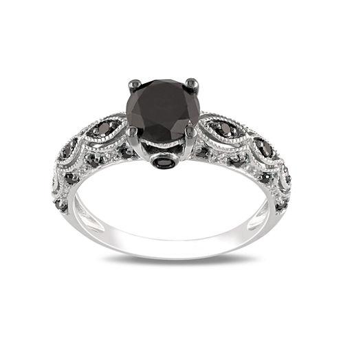 Midnight Black Diamond 1 1/4 CT. T.W. Black Diamond Ring
