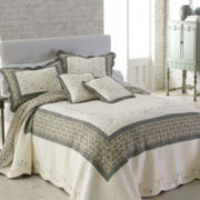 Bryn Floral Embroidered Bedspread
