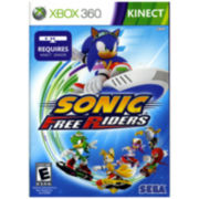 Xbox 360® Kinect Sonic Free Riders Video Game