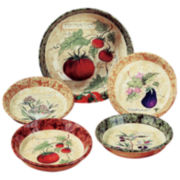 Pasta Bowl Set, 5-Piece Siena