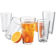 Libbey® 16-pc. Hoops Glassware Set