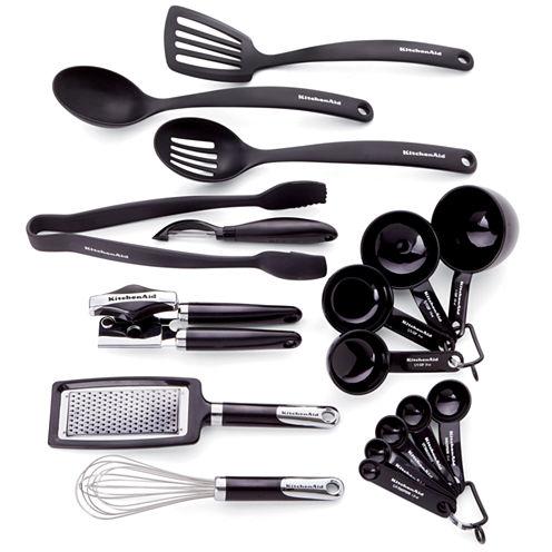 KitchenAid® Kitchen 17-pc.Gadget  & Tool Set