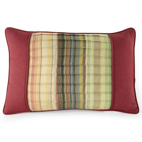 "Retro Chic 18"" Oblong Decorative Pillow"