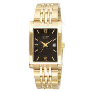 Citizen® Mens Black Dial Gold-Tone Watch BH1372-56E