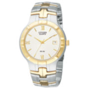 Citizen® Mens Two-Tone Watch BK2324-51A