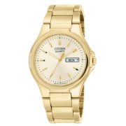 Citizen® Mens Gold-Tone Watch BK3562-58P