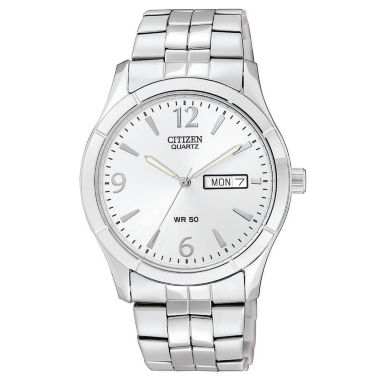jcpenney.com | Citizen® Mens Silver-Tone Watch BK3830-51A