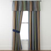 Blue Retro Chic Window Coverings