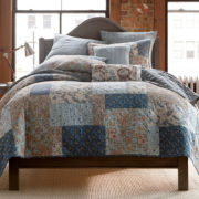 Fairview Patchwork Quilt & Accessories