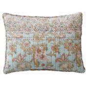 Linden Street™ Fairview Blue Floral Oblong Decorative Pillow