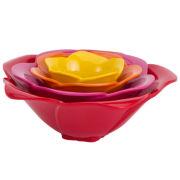 Zak Design® Rose 4-piece  Condiment Bowl Set