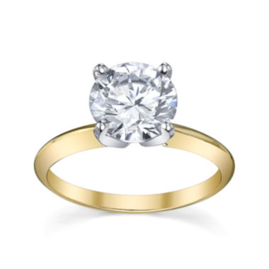jcpenney.com | Diamonore™ Simulated Diamond  2 CT. Solitaire Ring