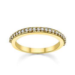 Diamonore™ 1/4 CT. T.W. Simulated Diamond Wedding Ring