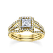 Diamonore™ Simulated Diamond Bridal Set 1.75 CTW