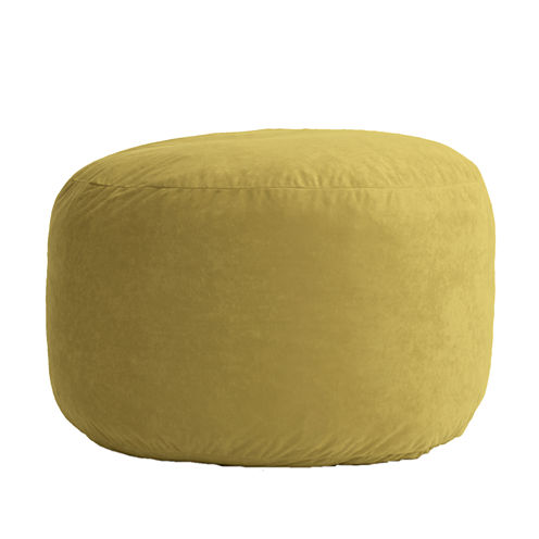 3' Medium Suede Fuf Beanbag Chair
