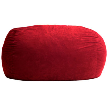 jcpenney.com | 6' Extra Large Suede Fuf Beanbag Chair