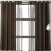 Studio™ Rumor Organza Stripe Grommet-Top Curtain Panel