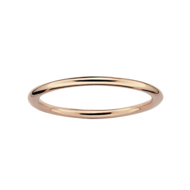 jcpenney.com | Personally Stackable 18K Rose Gold-Plated Sterling Silver Stackable Ring
