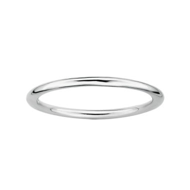 personally stackable sterling silver ring jcpenney