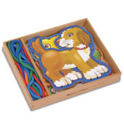 Melissa & Doug® Lace & Trace Pets Learning Toy