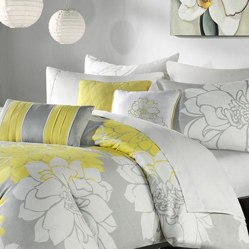 Lola Floral 6-pc. Duvet Cover Set