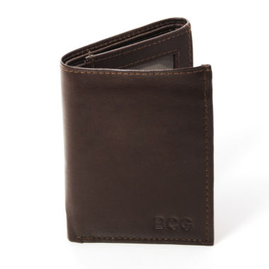 jcpenney.com | Personalized Tri-Fold Genuine Leather Wallet