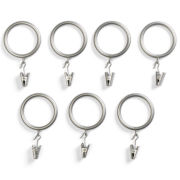 Royal Velvet® Set of 7 Clip Rings