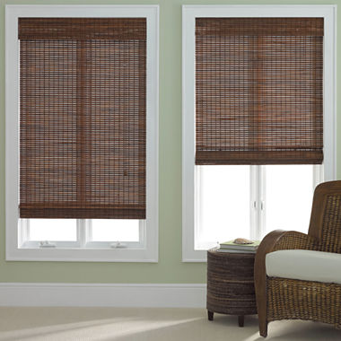 JCPenney Home Bamboo Woven Wood Shade