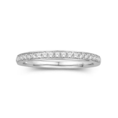 jcpenney.com | 1/4 CT. T.W. 14K White Gold Diamond Band Ring
