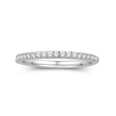 jcpenney.com | 1/4 CT. T.W. 14K White Gold Diamond Band