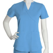 NrG™ by Barco 2-Pocket Scrub Top