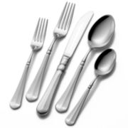 Mikasa® French Countryside 45-pc. 18/10 Stainless Steel Flatware Set