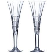 Mikasa® Avenue Set of 2 Champagne Flutes