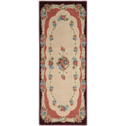 Rosewood Washable Runner Rug