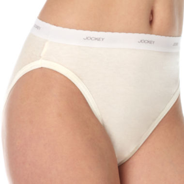 jcpenney.com | Jockey® 3-pk. Classic Fit French-Cut Panties - Plus 9481