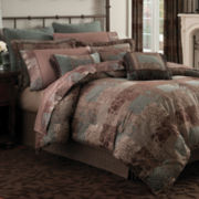 Croscill Classics® Catalina Brown 4-pc. Comforter Set