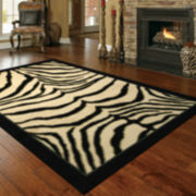 Mohawk Home® Zebra Safari Rectangular Rugs